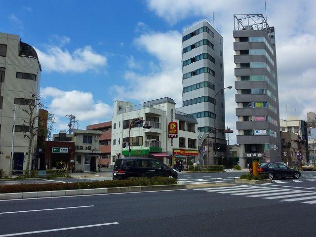 三田上水の終点 白金猿町