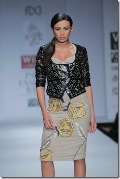 WIFW SS 2011 collection by Vineet Bahl (5)