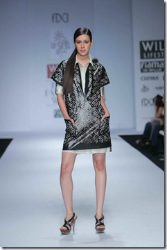 WIFW SS 2011 collection by Vineet Bahl (19)