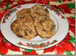 Simple Cookery Oatmeal Raisin Cookies