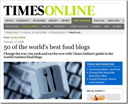 Times Best 50 Blogs