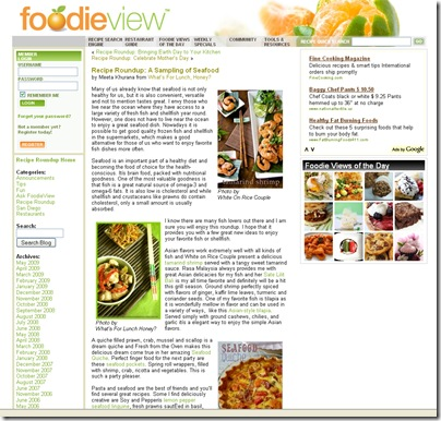 FoodieView Seafood