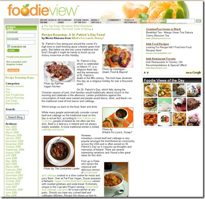 FoodieView St.Patrick