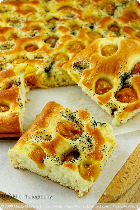 Mirabelles Lemon Poppy Seed Foccacia (03) by MeetaK