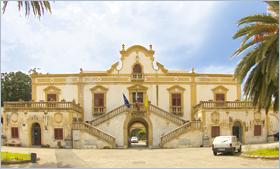 Sizilien - Die Villa Filangeri, das Rathaus von Santa Flavia