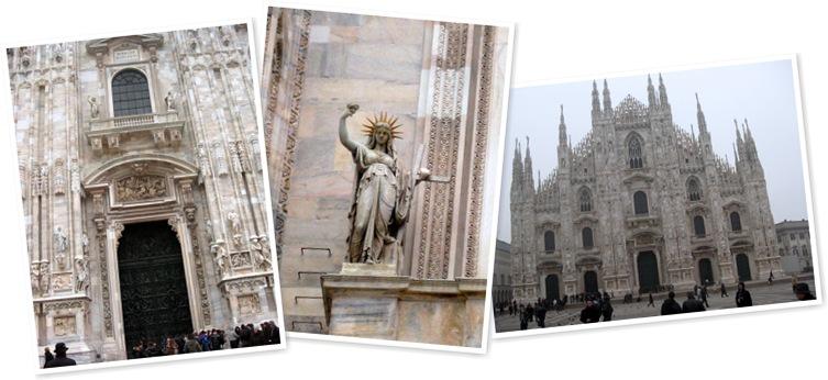 View Milan Duomo-statue