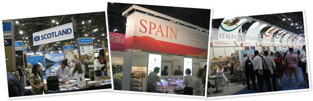 View int'l booths