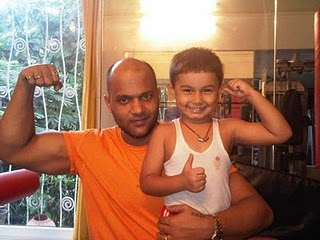 Ronak with trainer Satyajit Chaurasia