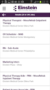 Einstein Health Network Jobs - screenshot thumbnail
