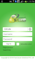 Screenshot of Franciscan e-Care