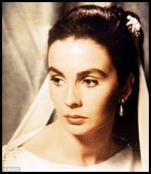 Jean Simmons in the Egyptian