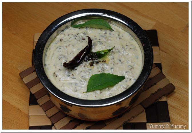 Kerala Pavakka Kichadi / Bitter gourd Kichadi
