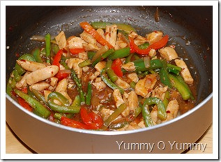 Chicken n Veggie Stir-fry