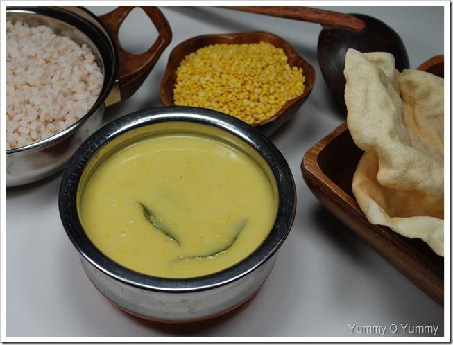 Parippu Curry / Sadya Parippu