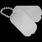 JSDF Id tag Clock widget icon
