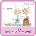 NK 카톡_모모N모니_핑크a 카카오톡테마 icon