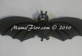 Ideas para HALLOWEEN: Murciélagos para Decorar Fiesta
