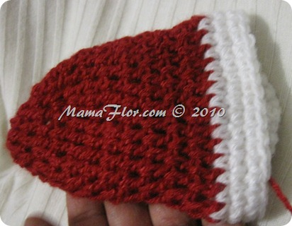 Gorro Tejido Crochet Santa Claus Papa Noel - IMG_0250