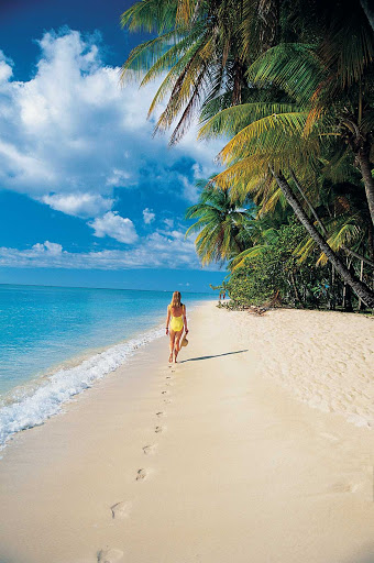 Windstar-Cruises-beach-single-2 - Go for a solo stroll in the tropics on your Windstar cruise.