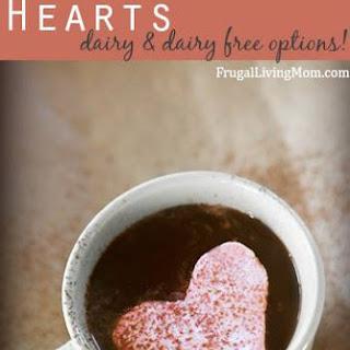 Whipped Cream Hearts