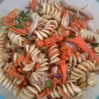 Spicy Pasta Salad.