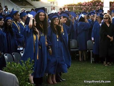 Parlier High graduation