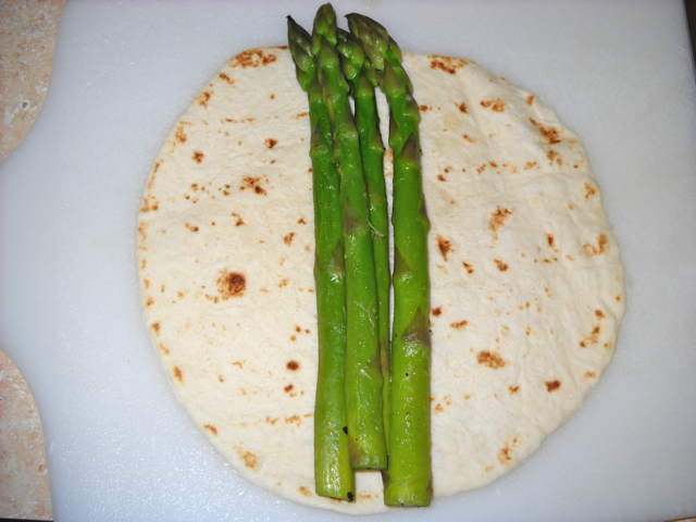 build asparagus wrap 1