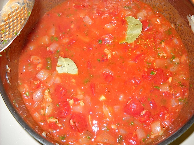 add tomatoes and herbs