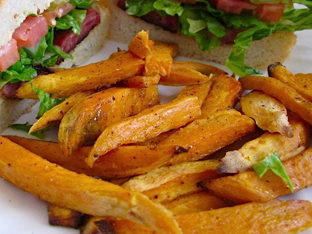Spicy Sweet Potato Stix (fries)