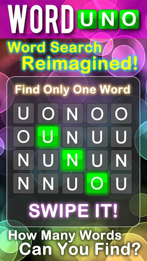 WordUno - Word Search Puzzle