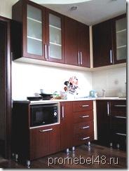 практичная угловая кухня