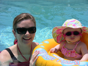 Riley and I Looking Too Cool in the Pool!
