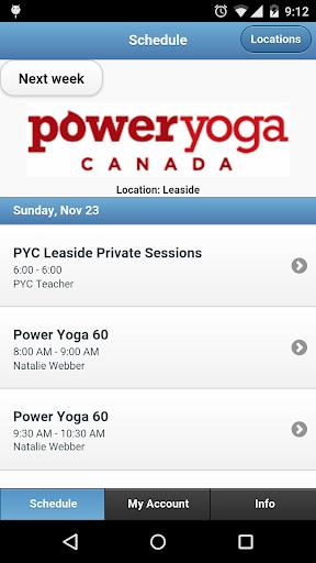 Power Yoga Canada Leaside