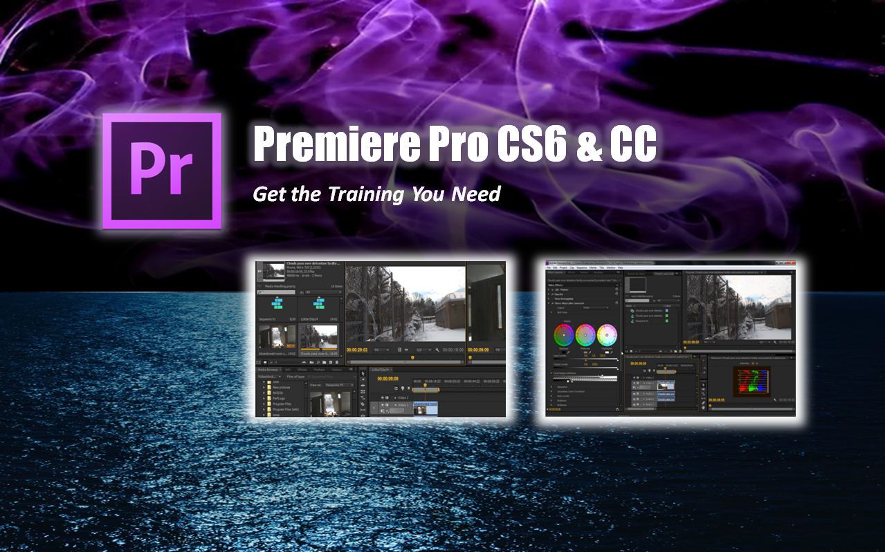 how to add watermark in premiere pro cs6