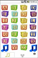 Screenshot of ABC Alphabet Song Sounds