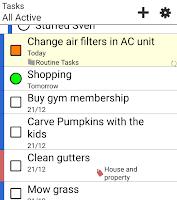 Screenshot of Informant Widget