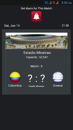 Football World Cup Live Score 1.6 screenshot 58199