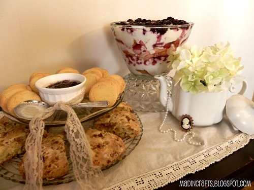 english tea time foods