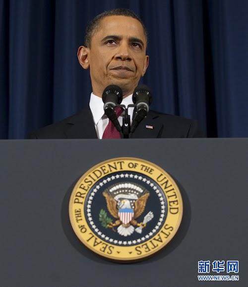 奥巴马就利比亚问题全国电视讲话全文