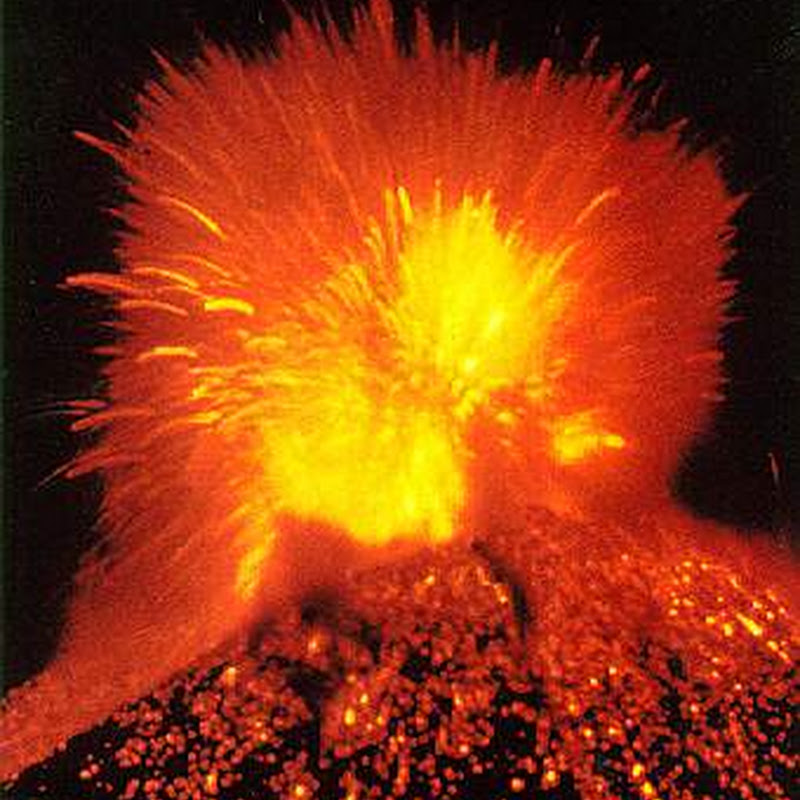 The volcano or Paricutin  is the youngest volcano in the world and appears in some versions of the Seven Natural Wonders of the World.