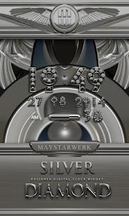 Digi Clock Widget Silver Diamond v2.70 [Paid] APK 1