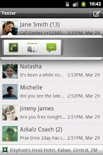 Textor - SMS with location- screenshot thumbnail