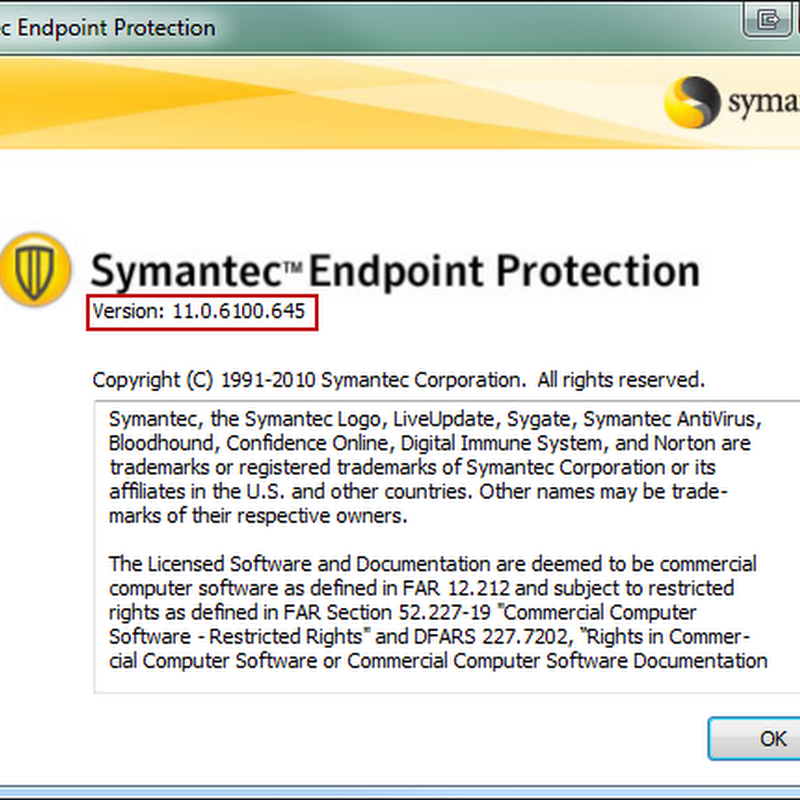 Symantec Endpoint Protection versions and builds