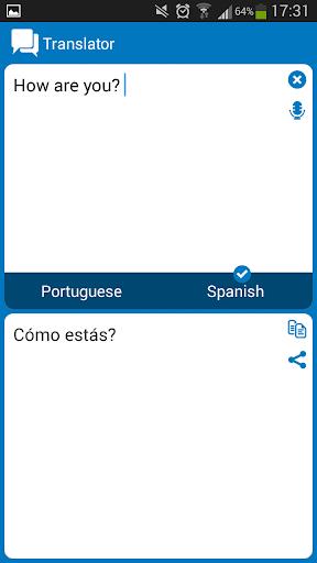 【免費教育App】Portuguese Spanish dictionar-APP點子