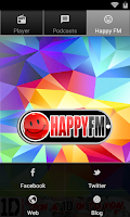 Screenshot of HAPPY FM RADIO