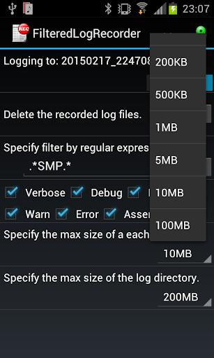 Filtered Log Recorder 2.0 Windows u7528 2