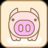 큐티 피기 카카오톡 테마(CutiePiggy)