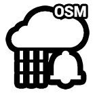 Rain Alarm OSM icon