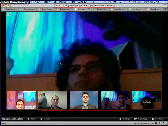 Videkonferenzen in Google Mail!