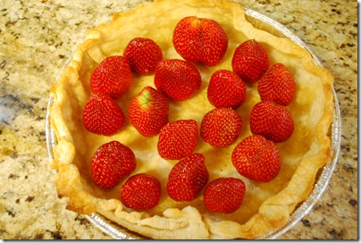 Strawberry Pie, without the filling